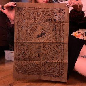 Fertility Spell Cloth Fetish Altar Talisman Oddity